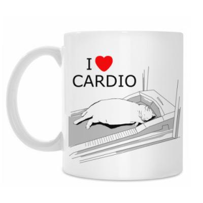 Кружка I LOVE CARDIO