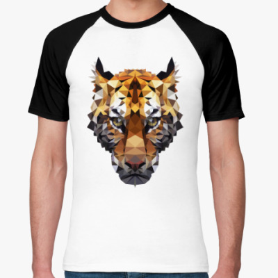 Футболка реглан Тигр / Tiger