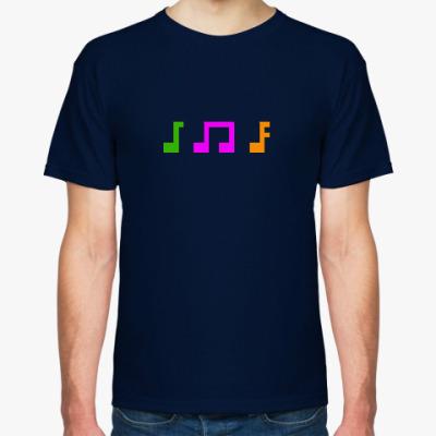 Футболка 8-bit music