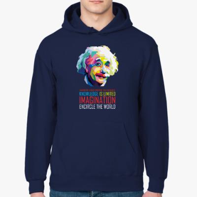 Толстовка худи Альберт Эйнштейн