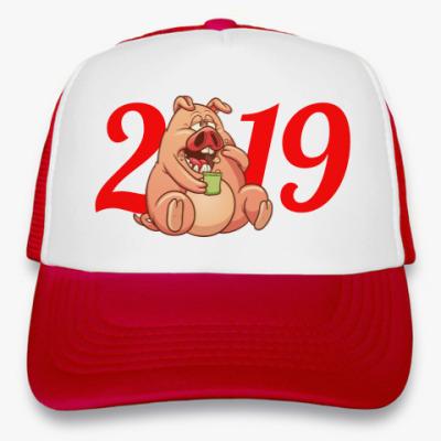 Кепка-тракер Fat Pig 2019