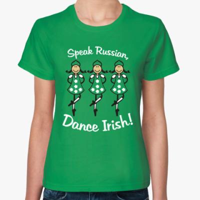 Женская футболка Dance
