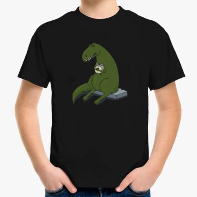 Детская футболка  Тираннозавр-соня