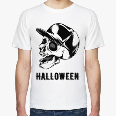 Футболка Baseball Cap Skull Halloween