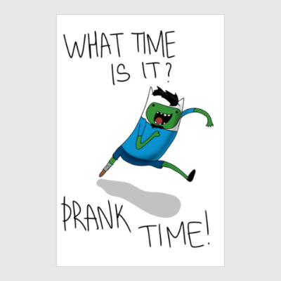 Постер Prank Time