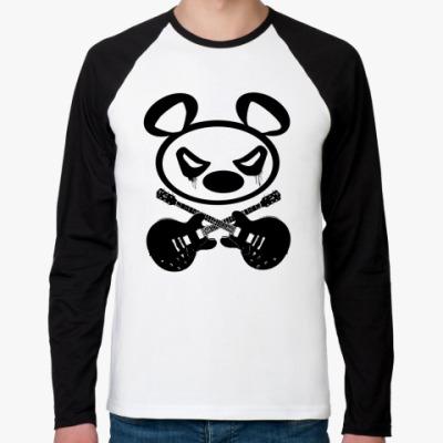 Футболка реглан с длинным рукавом   Panda
