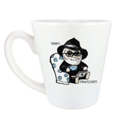 Чашка Латте Terry Pratchett (  Discworld )