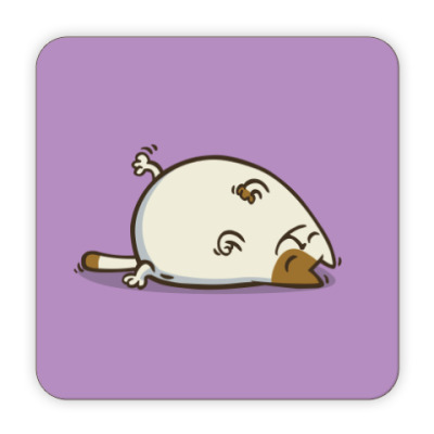 Костер (подставка под кружку)  Пятничный Котик №18