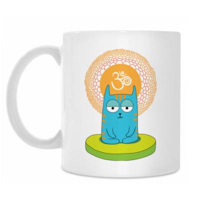 Кружка Yoga Cat