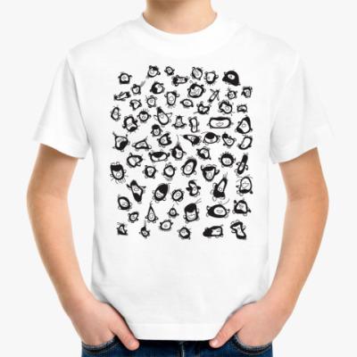Детская футболка пингвины