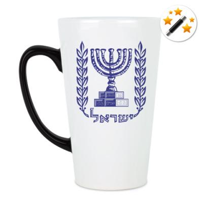 Кружка-хамелеон Герб Израиля