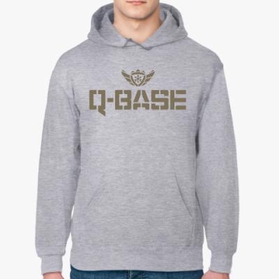 Толстовка худи Q-Base & Logo