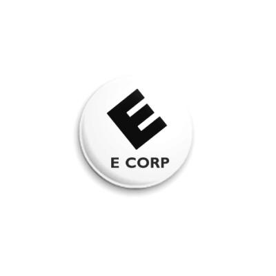 Значок 25мм E Corp