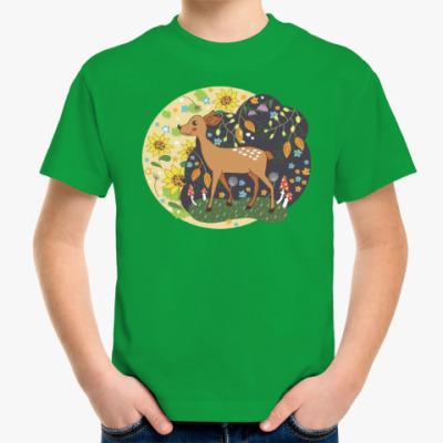 Детская футболка Лесная