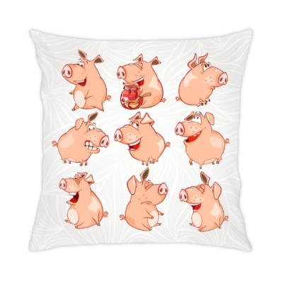 Подушка Свиньи