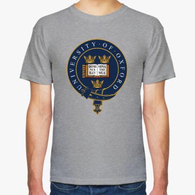 Футболка Университетский герб Оксфорд