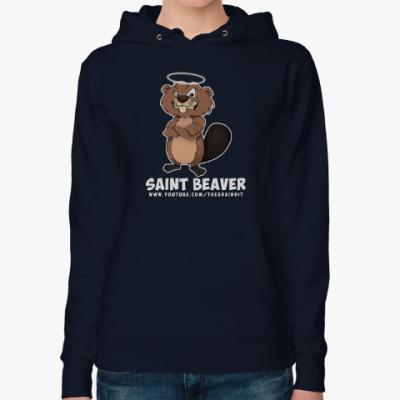 "Женская толстовка худи Женская толстовка ""St. Beaver"""