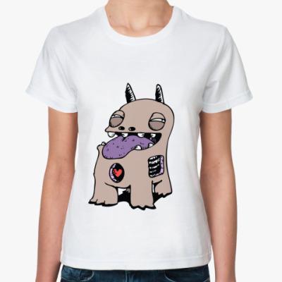 Классическая футболка Пёсик