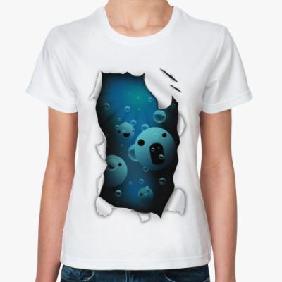 Классическая футболка 'Смайлы'