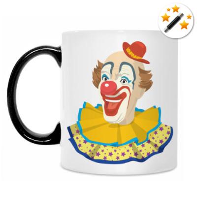 Кружка-хамелеон Clown