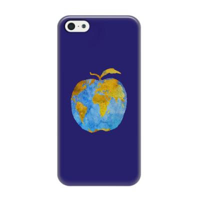 Чехол для iPhone 5/5s Apple Earth