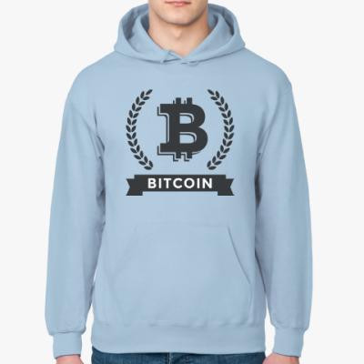 Толстовка худи Bitcoin - Биткоин