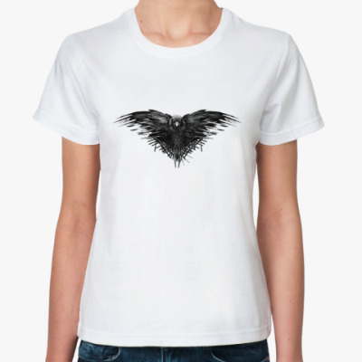Классическая футболка Игра Престолов: Ворон