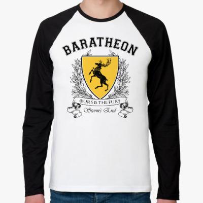 Футболка реглан с длинным рукавом House Baratheon