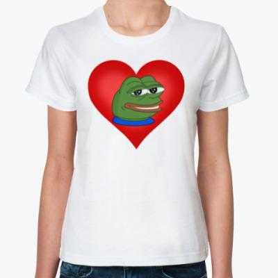 Классическая футболка Pepe In My Heart