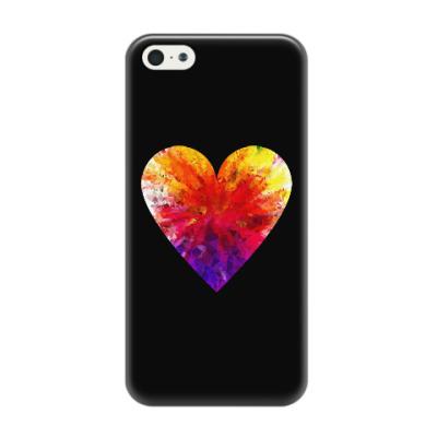 Чехол для iPhone 5/5s Сердечко