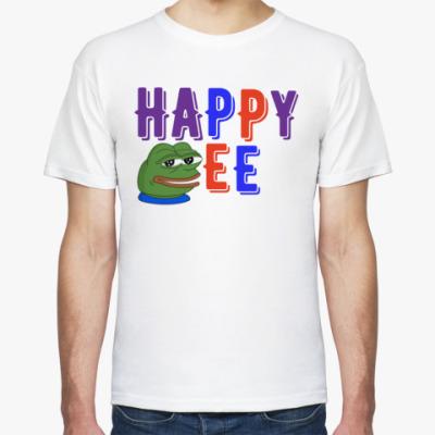 Футболка HAPPY PEPE