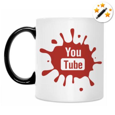 Кружка-хамелеон YouTube