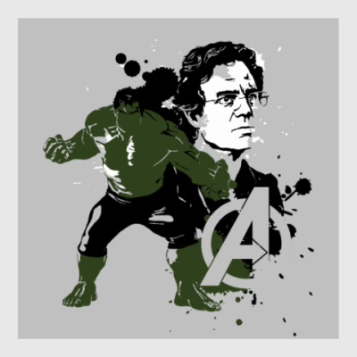 Постер The Avengers - Hulk