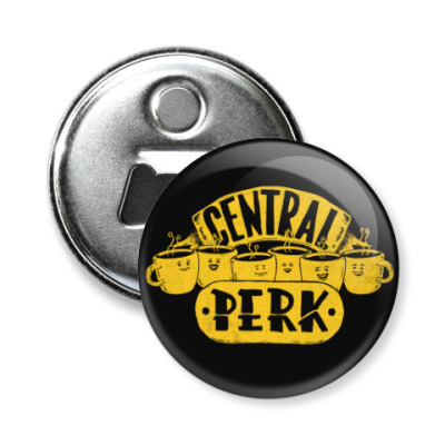 Магнит-открывашка Friends Central Perk