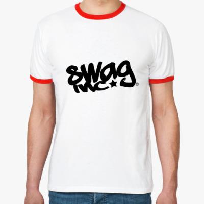 Футболка Ringer-T Swag