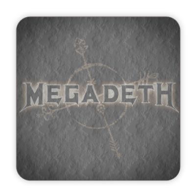 Костер (подставка под кружку) Megadeth