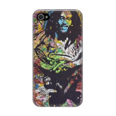 Чехол для iPhone 4/4s 'Боб Марли'