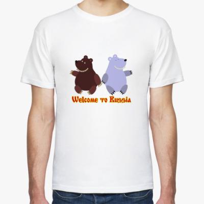 Футболка Russian bears