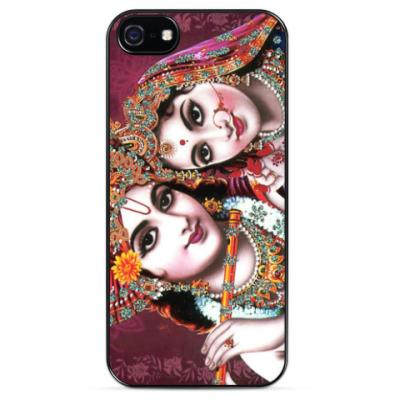 Чехол для iPhone Радха и Кришна