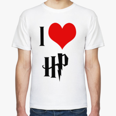 Футболка I love HP