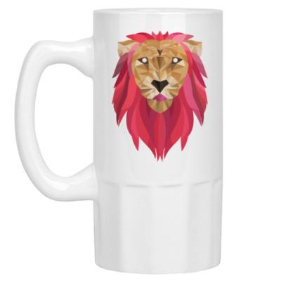 Пивная кружка Лев / Lion