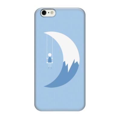 Чехол для iPhone 6/6s Качели на Луне