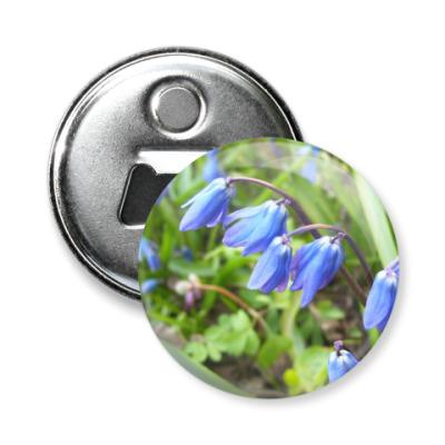 Магнит-открывашка Цветы