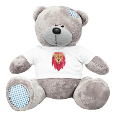 Плюшевый мишка Тедди Лев / Lion
