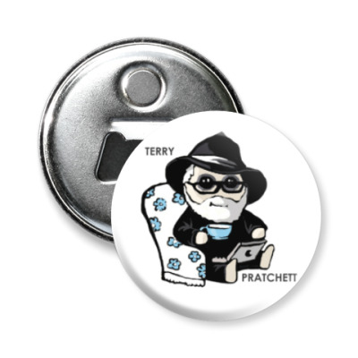 Магнит-открывашка Terry Pratchett (  Discworld )