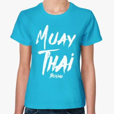 Женская футболка Muay Thai Boxing/Тайский бокс