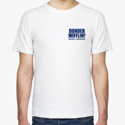 Футболка Dunder Mifflin / The Office / Fun Run