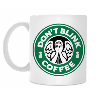 Кружка Don't blink coffee DOCTOR WHO