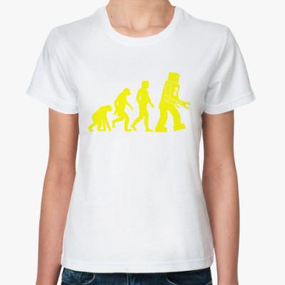 Классическая футболка  'Robot Evolution'