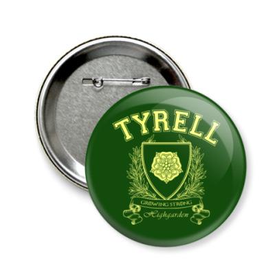Значок 58мм House Tyrell